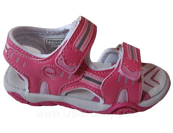 Dívčí sandále Peddy, vel. 28, Růžová