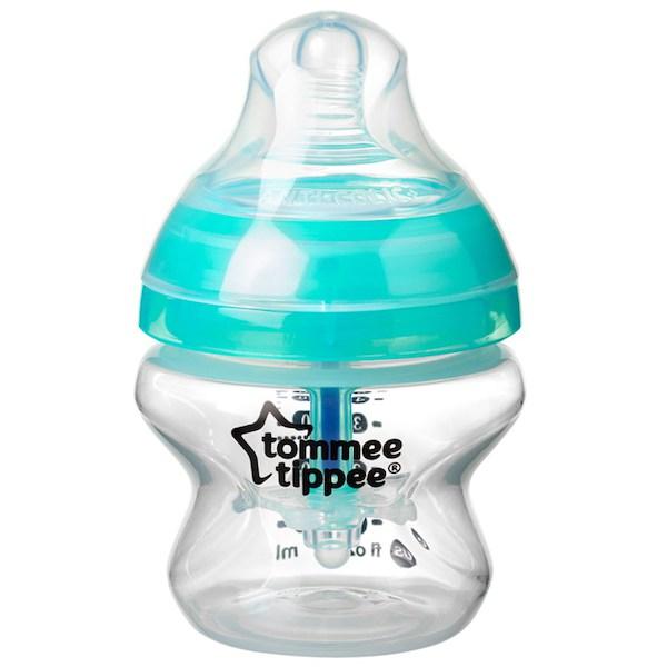 Antikoliková láhev Tommee Tippee 150 ml (1ks), Transparentní
