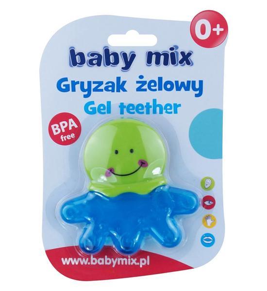 Chladící kousátko Baby Mix chobotnice, Modrá