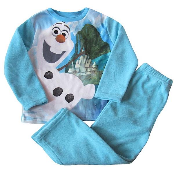 Chlapecké flísové pyžamo (komplet) Olaf, vel. 116, sv. modrá