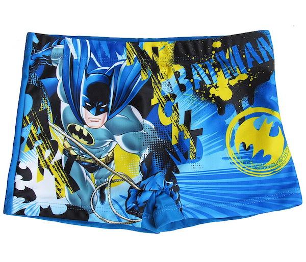 Chlapecké plavky Batman (QE1977), vel. 104, Modrá