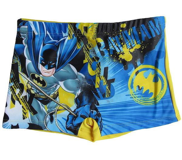 Chlapecké plavky Batman (QE1977), vel. 104, modro-žlutá