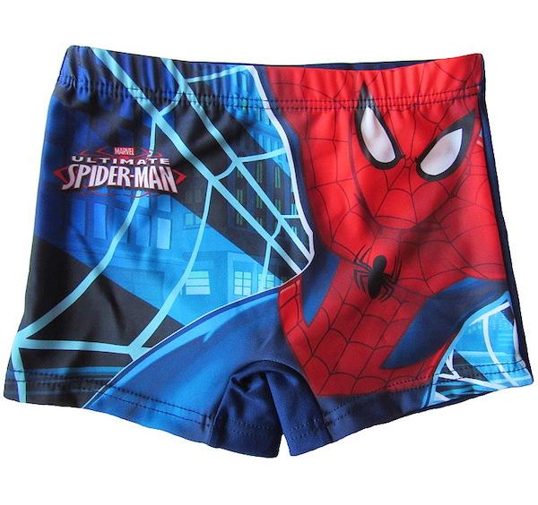 Chlapecké plavky Spiderman (910-493), vel. 104, tm. modrá