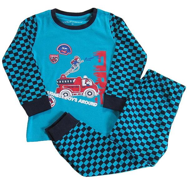 Chlapecké pyžamo Wolf (S2668), vel. 98, Zelená