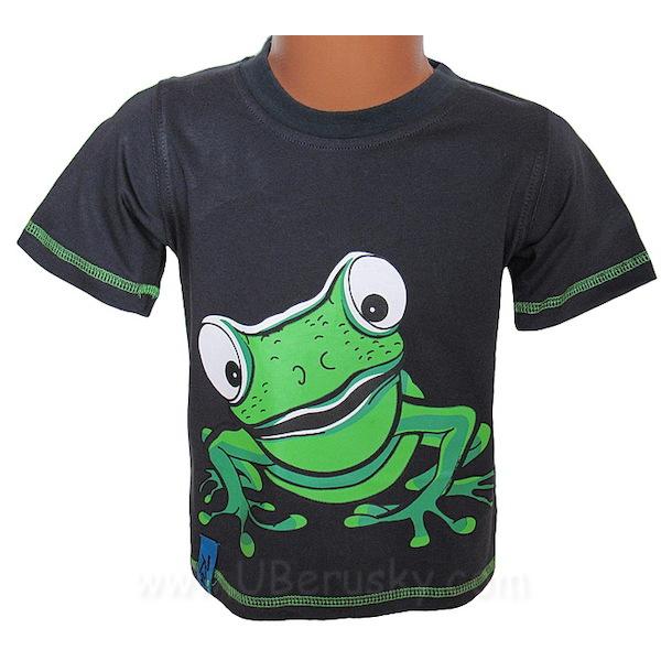 Chlapecké triko Kugo (T2002), vel. 98, černá