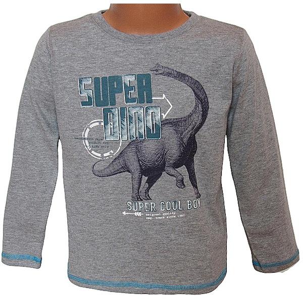 Chlapecké triko Wolf (S2631), vel. 98, šedá