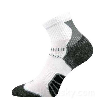 Cyklo ponožky Falco Voxx, vel. 43-46, Bílá