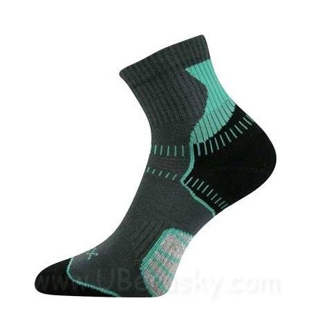 Cyklo ponožky Falco Voxx, vel. 35-38, zeleno-černá
