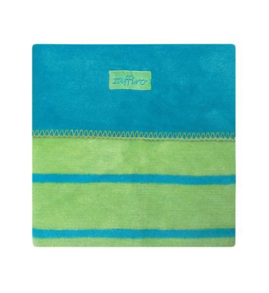 Dětská bavlněná deka Womar 75x100, tyrkysová