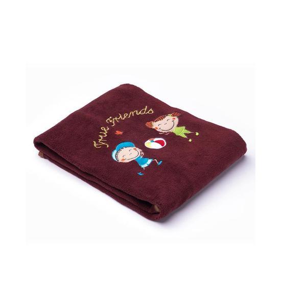 Dětská deka Sensillo Děti 75x100 cm raspberry, Hnědá