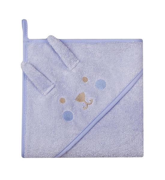 Dětská froté osuška Womar 100x100 modrá, Modrá
