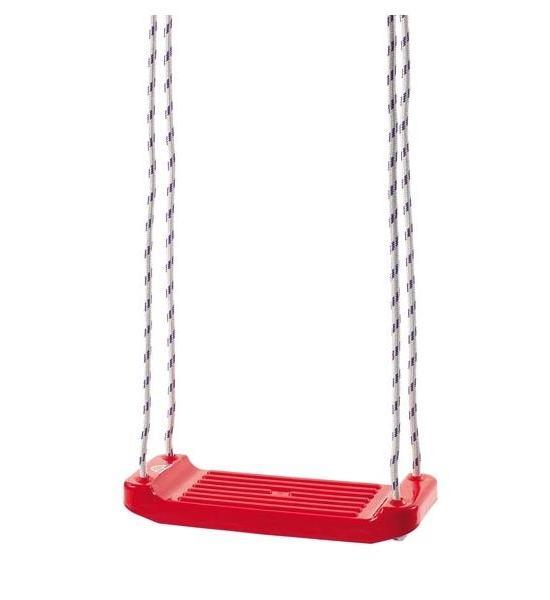 Dětská houpačka červená, Červená