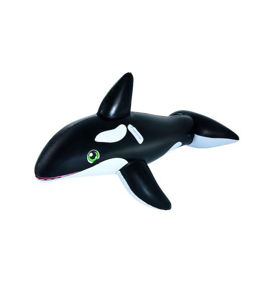 Dětská nafukovací kosatka do vody Bestway, černá