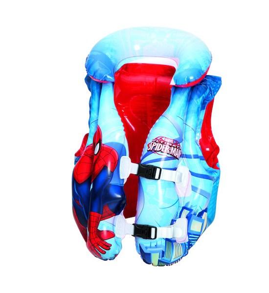 Dětská nafukovací vesta Bestway Spider-Man, Modrá