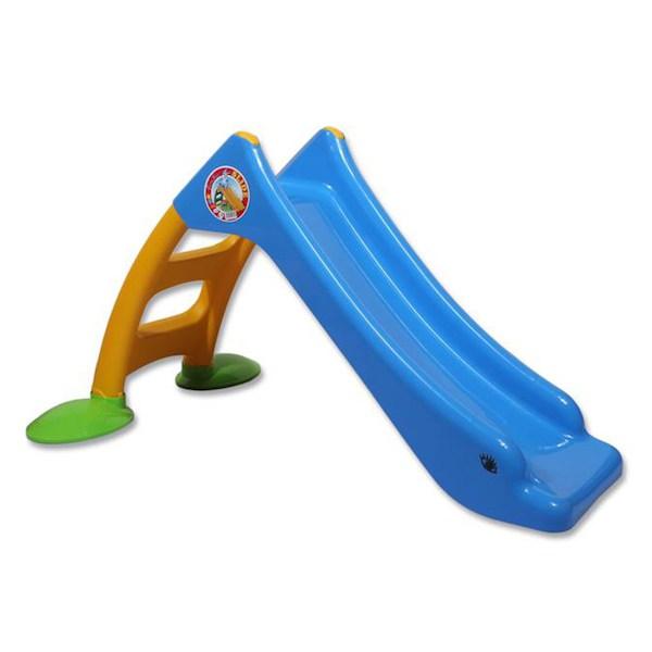 Dětská skluzavka - žlutá, Modrá