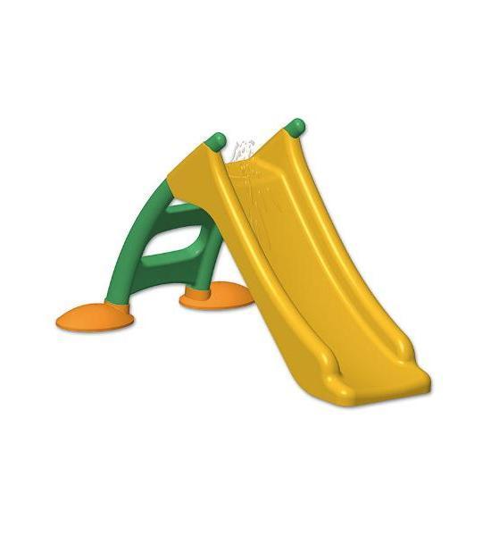 Dětská skluzavka - žlutá, Žlutá