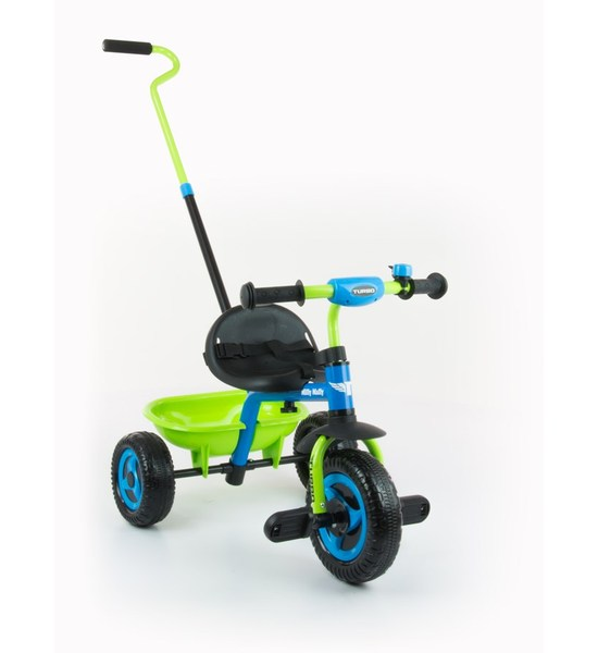 Dětská tříkolka Milly Mally Boby TURBO blue, Modrá