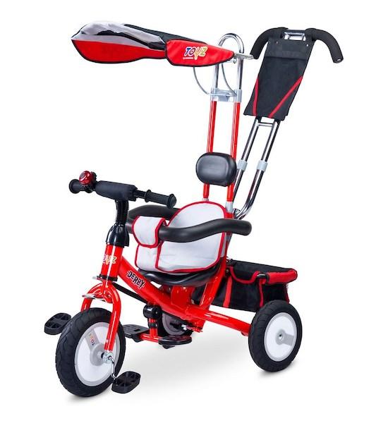 Dětská tříkolka Toyz Derby blue, Červená