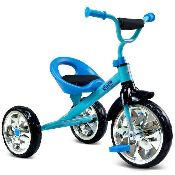 Dětská tříkolka Toyz York purple, Modrá
