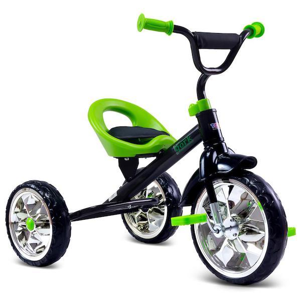 Dětská tříkolka Toyz York purple, Zelená