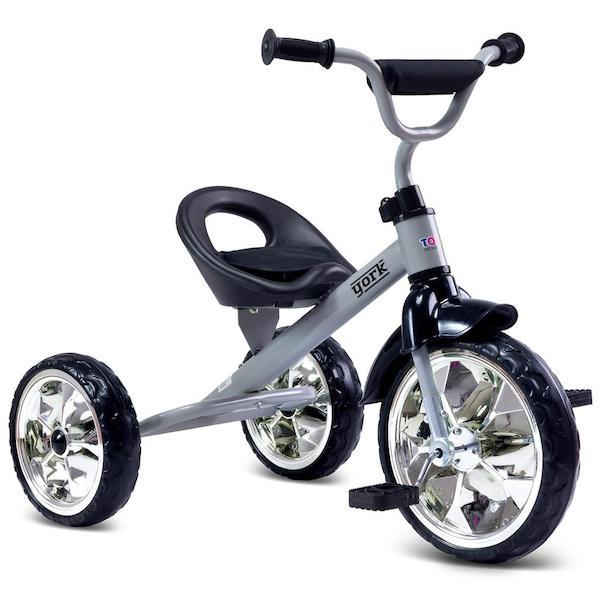 Dětská tříkolka Toyz York purple, šedá
