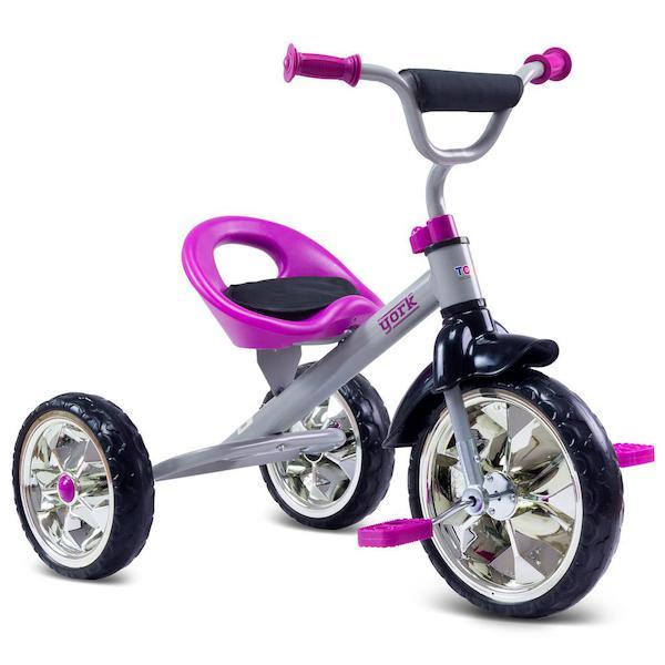 Dětská tříkolka Toyz York purple, Fialová