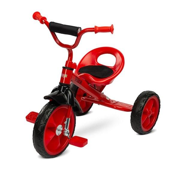 Dětská tříkolka Toyz York purple, Červená