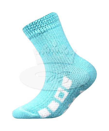 Dětské ponožky Boma Spací (B275), vel. 35-38, tyrkysová