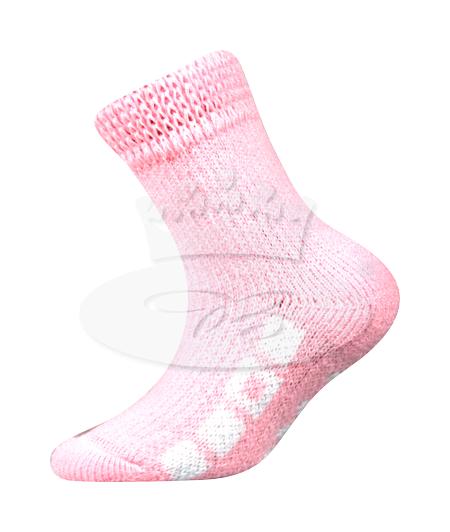 Dětské ponožky Boma Spací (B275), vel. 35-38, Růžová