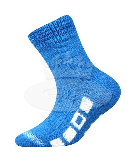 Dětské ponožky Boma Spací (B275), vel. 35-38, Modrá