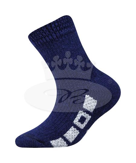 Dětské ponožky Boma Spací (B275), vel. 35-38, tm. modrá