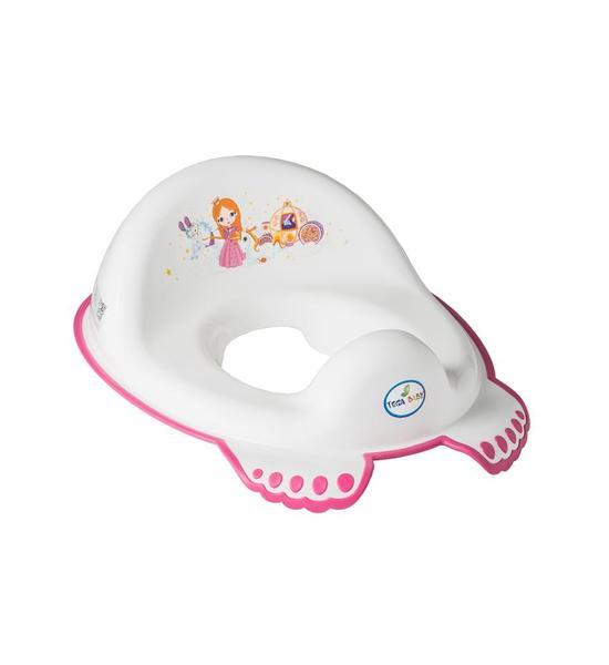 Dětské protiskluzové sedátko na WC Malá Princezna bílé, Bílá