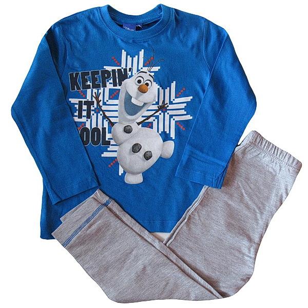 Dětské pyžamo Olaf (PH2168), vel. 110, modro-šedá