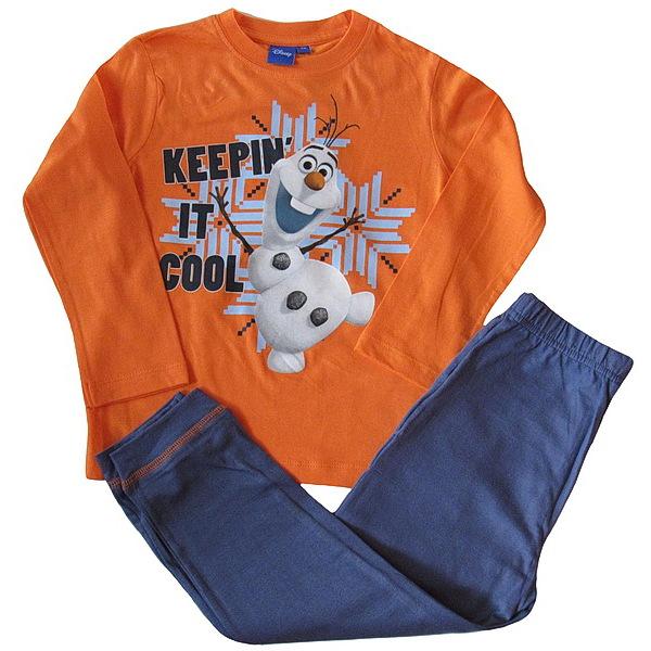 Dětské pyžamo Olaf (PH2168), vel. 98, oranžovo-modrá