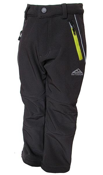 Dětské softshellové kalhoty Kugo (S6105), vel. 86, tm. šedá