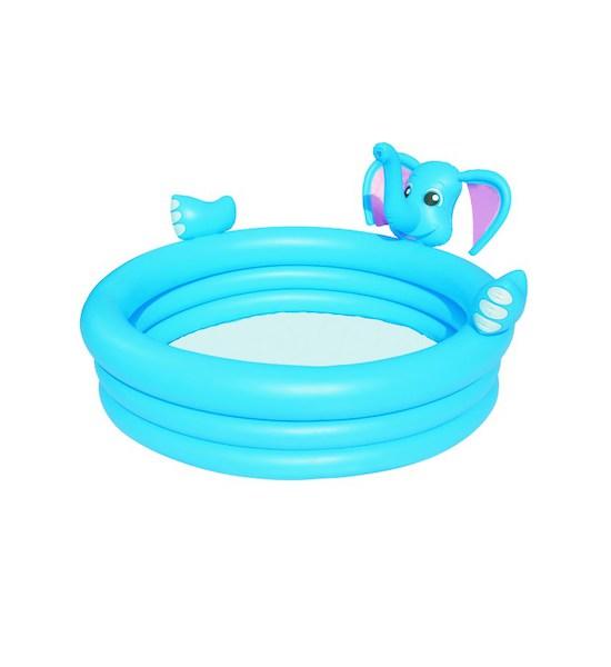 Dětský nafukovací bazén Bestway sloník, Světle modrá