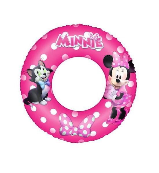 Dětský nafukovací kruh Bestway Minnie, Růžová