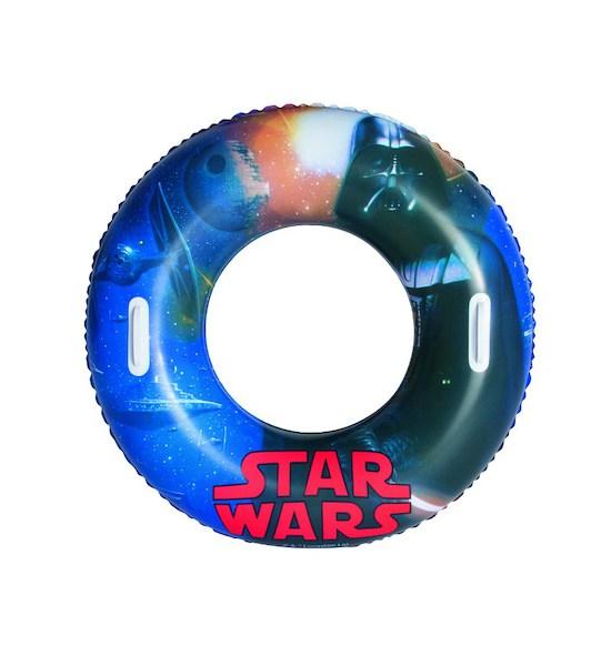Dětský nafukovací velký kruh Bestway Star Wars, Modrá