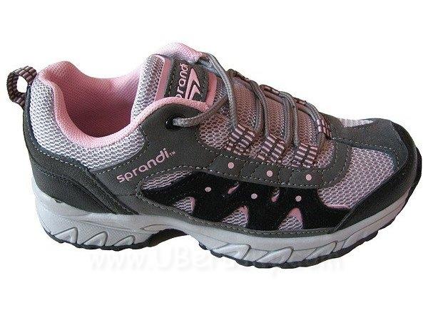 Dívčí botasky Sprandi, vel. 33, šedo-růžová