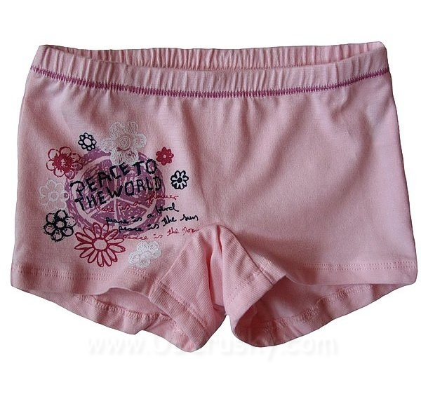 Dívčí kalhotky s nohavičkou, vel. 134, sv. růžová