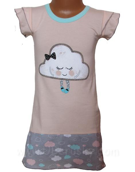 Dívčí noční košile LENA (H1096), vel. 104, lososová