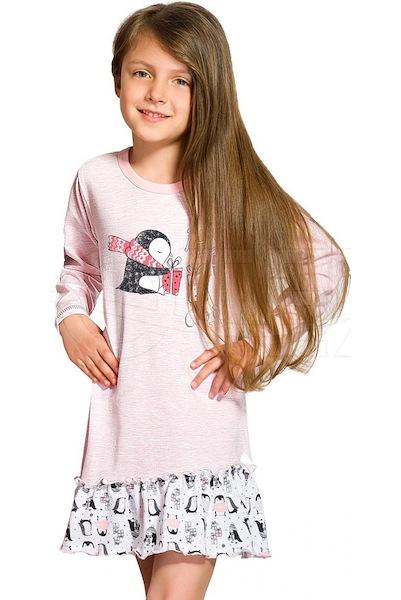 Dívčí noční košile Oda (Taro1159), vel. 128, Růžová