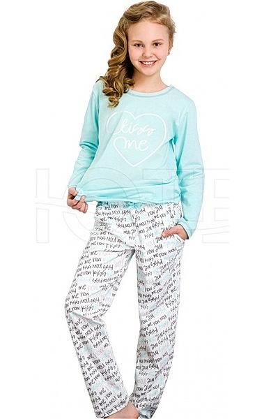 Dívčí pyžamo dorostové Sara (Taro1033), vel. 152, sv. modrá