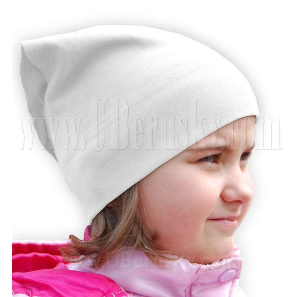 Dívčí šátečk (JanaB01), vel. 128, Bílá