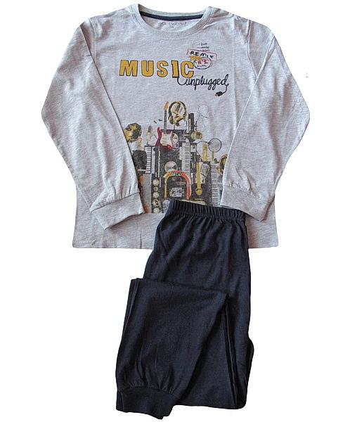 Dorostové pyžamo Wolf (S2656), vel. 150, sv. šedá