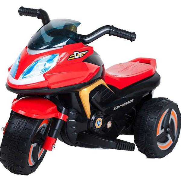 Elektrická motorka BAYO KICK red, Červená
