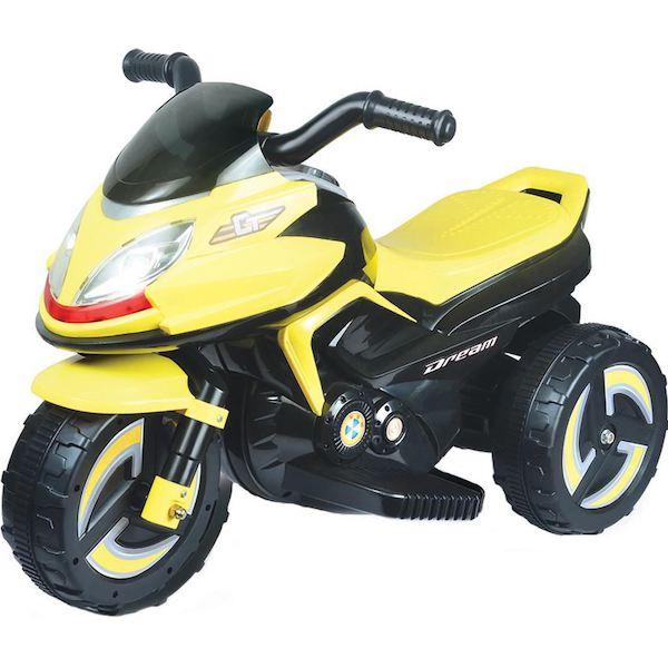 Elektrická motorka BAYO KICK yellow, Žlutá