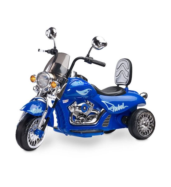Elektrická motorka Toyz Rebel black, Modrá