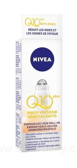 Energizující oční roll-on proti vráskám Q10 plus, vel. 10 ml
