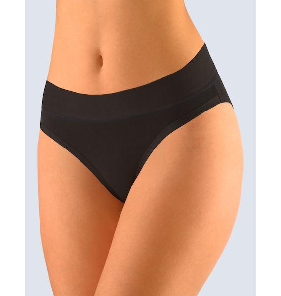 GINA dámské kalhotky klasické s úzkým bokem, úzký bok, šité, s potiskem Disco X 10160P - bílá 34/36, vel. 38/40, Bílá